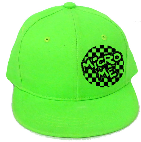 Micro Logo Unisex Tee-Neon Green- (Toddler, & Youth)