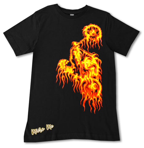 Flame Rider TEE, Black