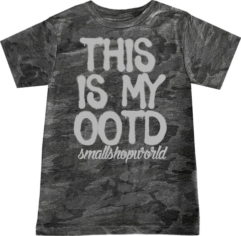 OOTD Tee,Smoke Camo- ( Infant, Toddler, Youth)