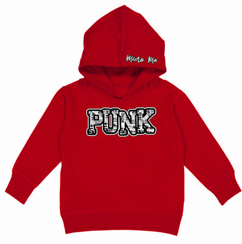 URB-PUNK Hoodie, Red (Toddler, Youth)