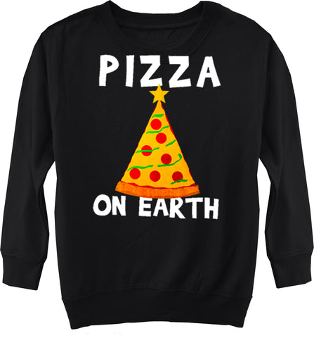 CHR-Pizza On Earth Sweater, Black (Toddler, Youth)
