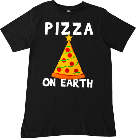 CHR-Pizza On Earth Tee, Black (Infant, Toddler, Youth)