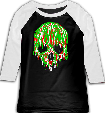 Adios2020l Raglan, B/W (Toddler, Youth)