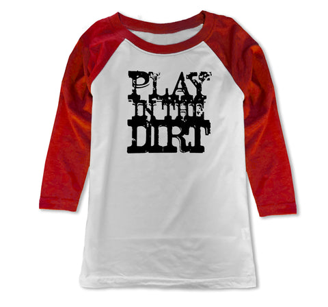 Play in Dirt Raglan, WR(Toddler, Youth)
