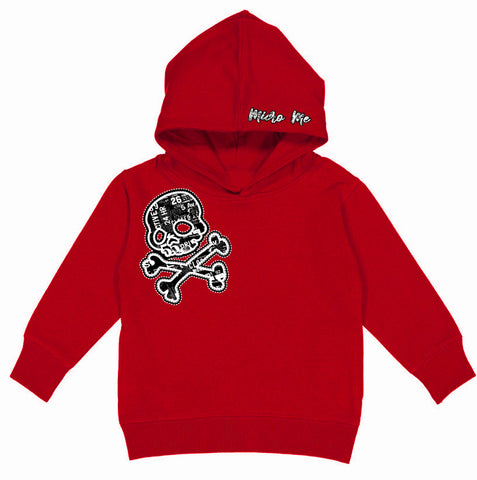 URB-SKULL Hoodie, Red(B)-(Toddler, Youth)