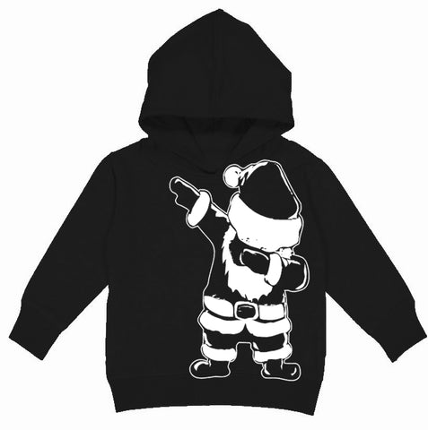 CHR-Santa Dab Hoodie, Black (Toddler, Youth)