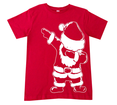 CHR-Santa Dab Tee, Red (Infant, Toddler, Youth)