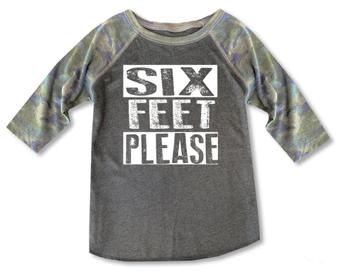 Six Feet Please Raglan