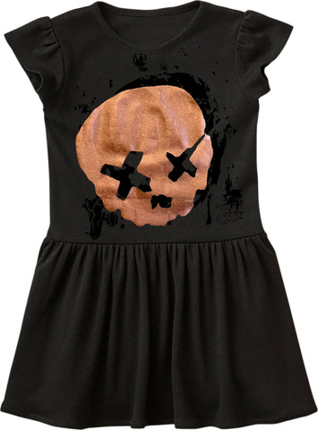 Cobain Skull Dress, Black (Infant, Toddler)