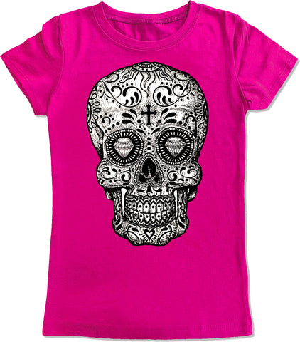 HM-Sugar Skull Fitted Tee (Infant, Toddler, Youth)