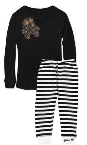 Leopard Skull Jammies Set (Infant, Toddler, Youth)