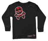 *GRG-Grunge Skull Long Sleeve Shirt (Infant, Toddler, Youth)