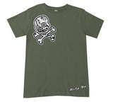 URB-Urban SKULL Tee, Military (Infant, Toddler, Youth)