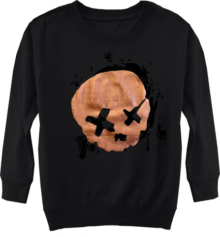 Cobain Skull Fleece Sweater, Black (Toddler, Youth)