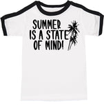 Summer is a State of Mind Retro Ringer Tee-(2T-5T)