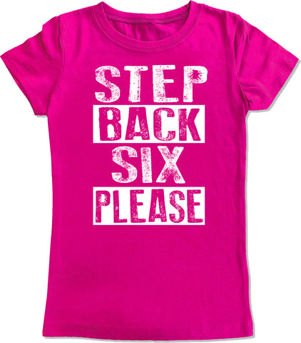 Step Back Six Please Fitted Tee