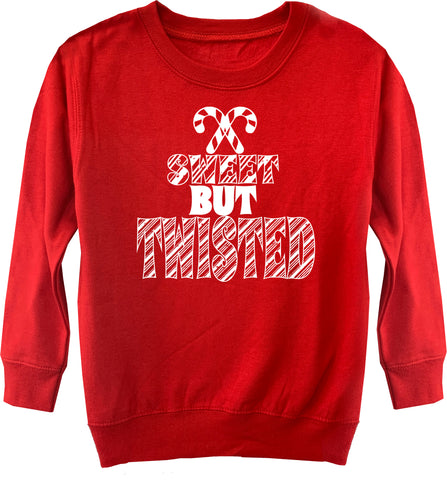 CHR-Sweet But Twisted Sweater, Red (Toddler, Youth)