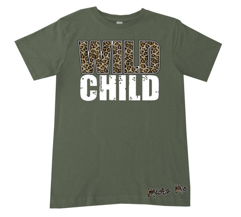 Wild Child Tee, Military (Infant, Toddler, Youth)