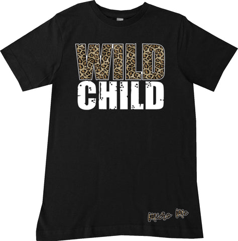 Wild Child Tee, Black(Infant, Toddler, Youth)