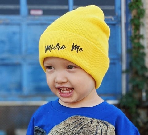 ***Yellow Beanie, (Medium)