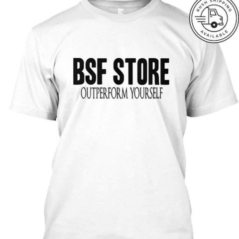 BSF Store OUTPERFORM YOURSELF T-SHIRT 👕