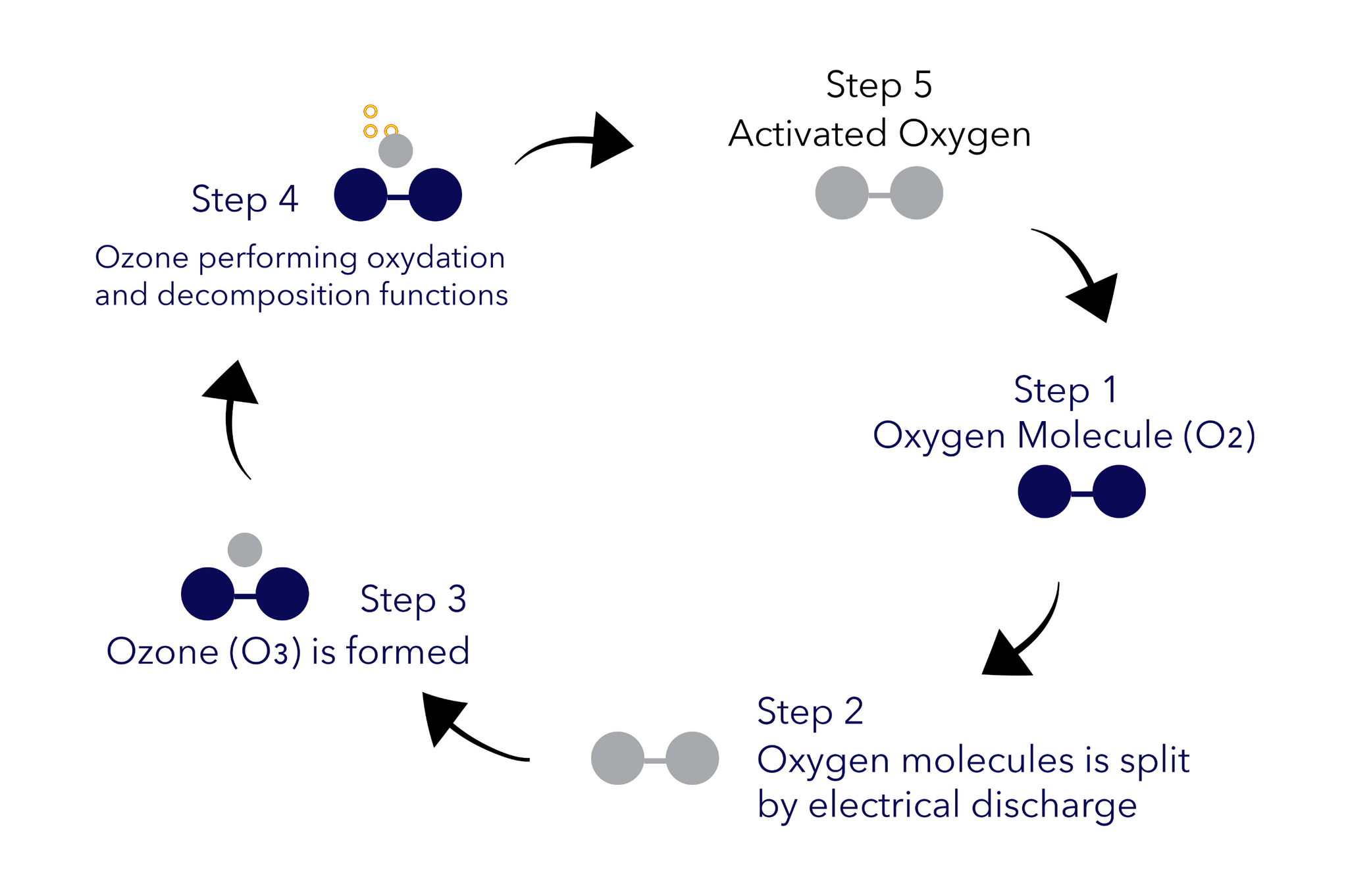 The oxidation effect in Ozone Therapy