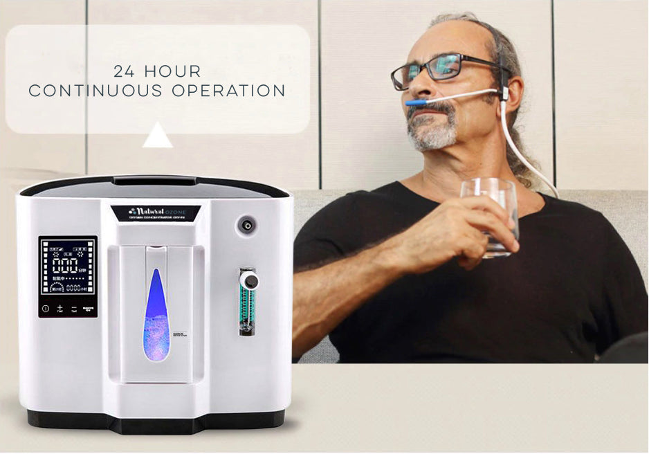 OXY-96 Portable oxygen concentrator - 96% purity