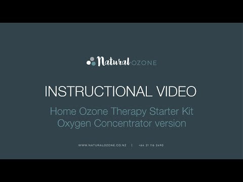 Ozone Therapy Starter Kit - Oxygen Concentrator version
