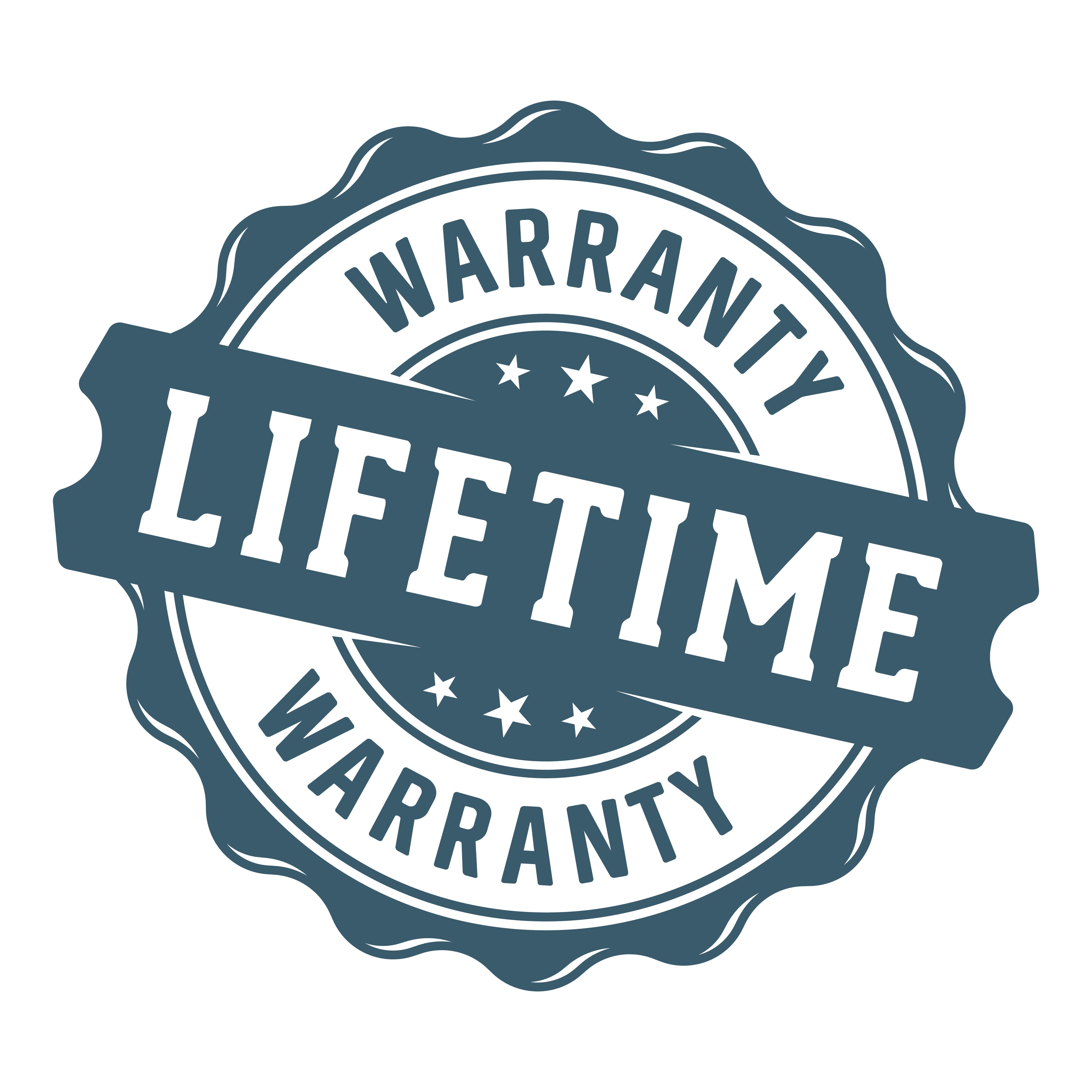 Lifetime Warranty for MOG - 108/ MOG - 109