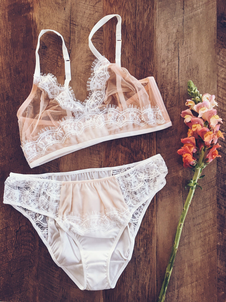 Dream Girl Comfort Knicker and Triangle Bra by Mimi Holliday | Finding Rosie Lingerie Shop