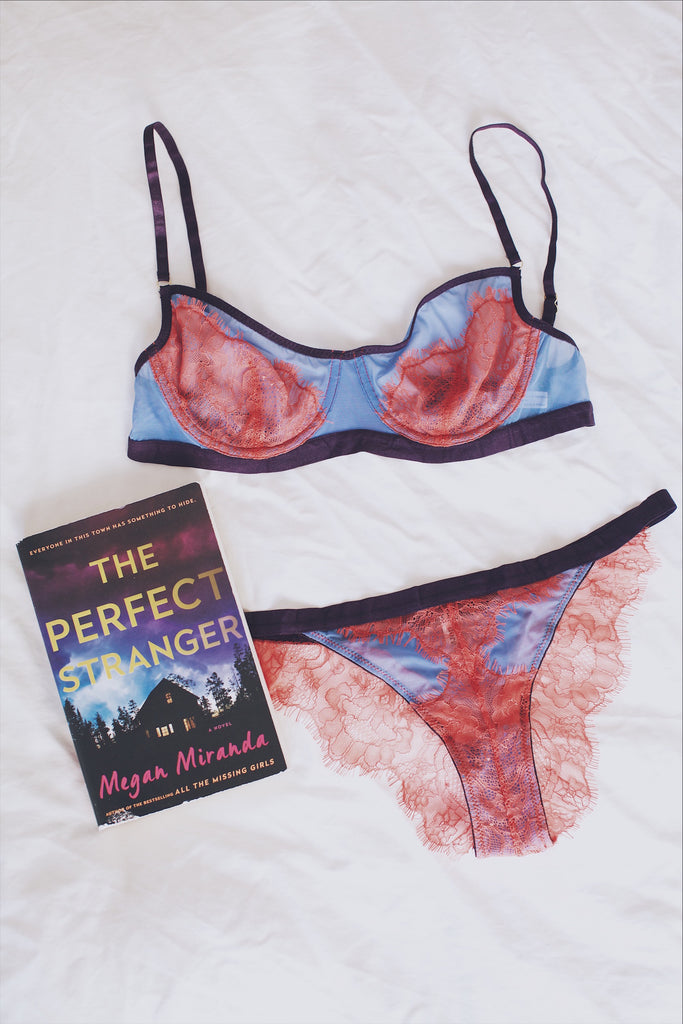 Books and Bras: Reading List | The Perfect Stranger & Chloe Bra & Brief by Dora Larsen