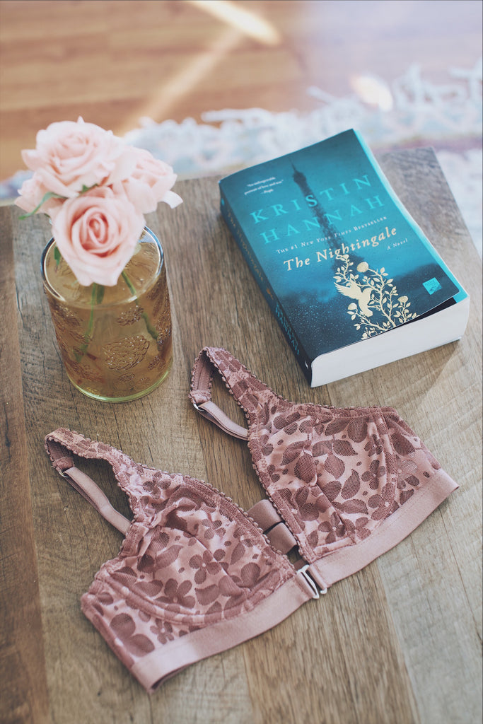 The Nightingale Books and Bras Reading List | Finding Rosie Lingerie & Lifestyle Blog