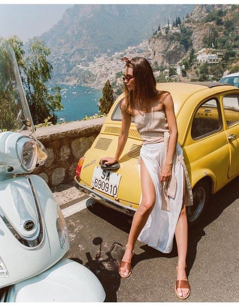 summer road trip in italy