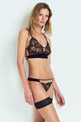 Else lingerie Yasmine Silk & Lace thong