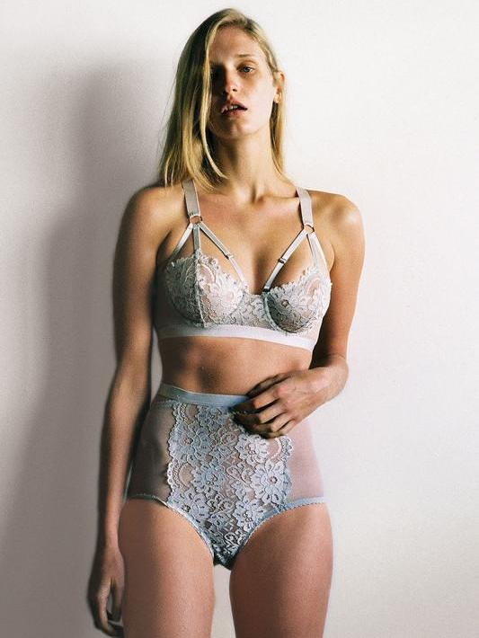 Lulu High Waist Brief by Lonely Label | Finding Rosie Lingerie Shop