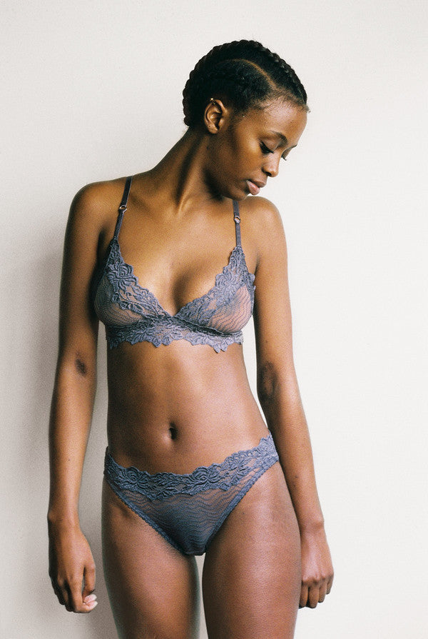 Lonely Label Bonnie Brief in Granite Grey | Finding Rosie lingerie shop