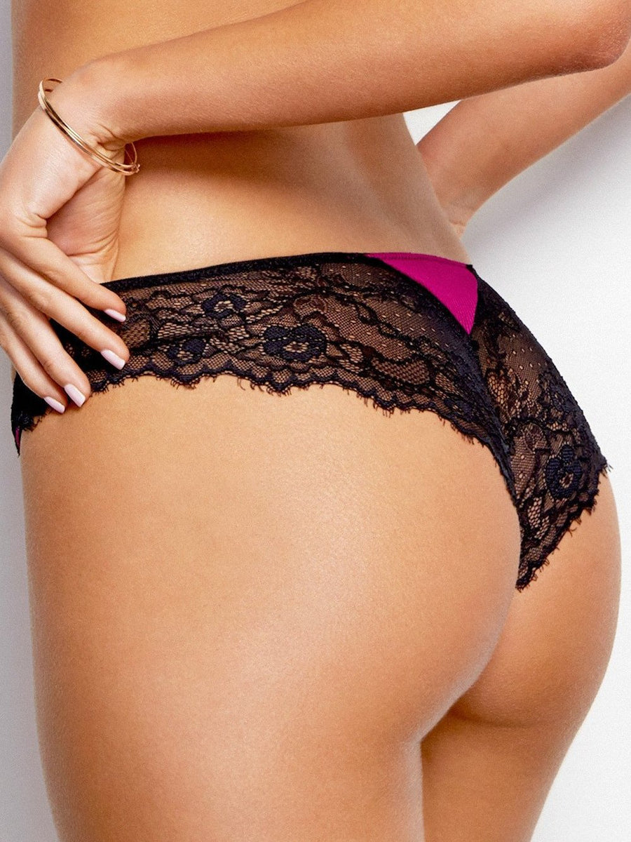 Barely There with Lace Cheeky Brief - Finding Rosie Lingerie Boutique - 4