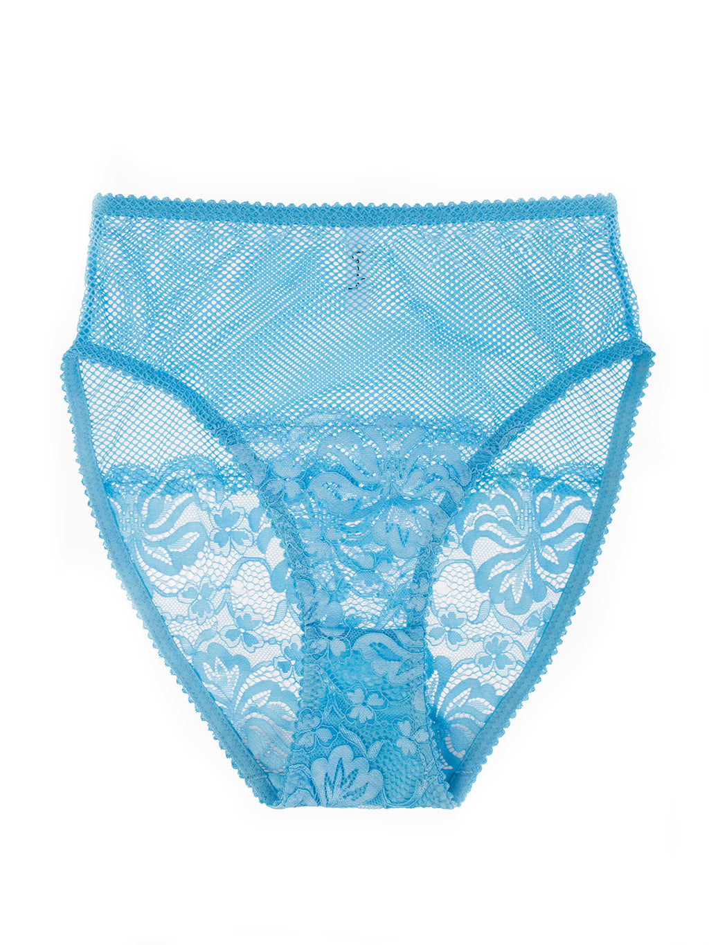 Lena High-Waist Underwear in Topaz | Lonely lingerie at Finding Rosie