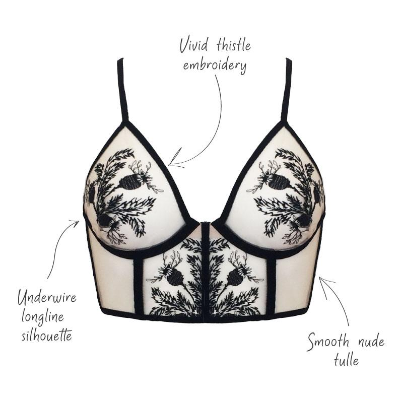Stylish lingerie shop Thistle & Spire | Finding Rosie boutique