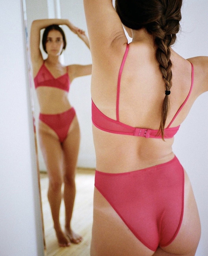 Buy Whisper Retro High-Waist Underwear by Only Hearts