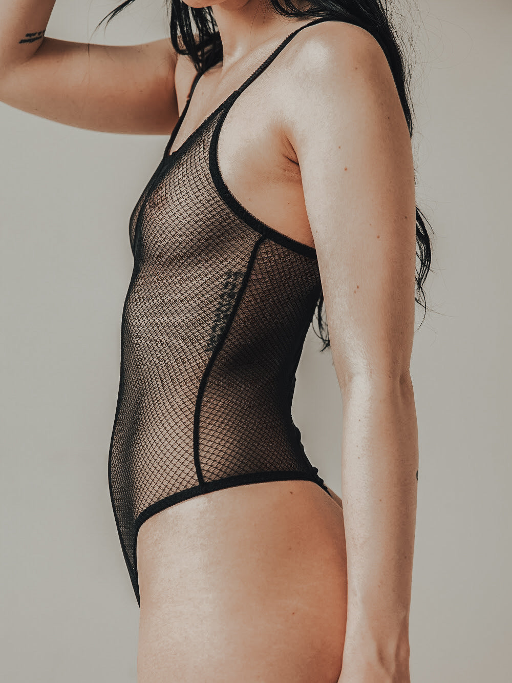 Element Black Bodysuit by Blush lingerie