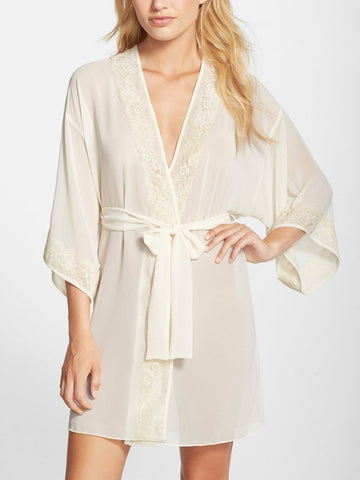 Wisteria Satin Pajama Set