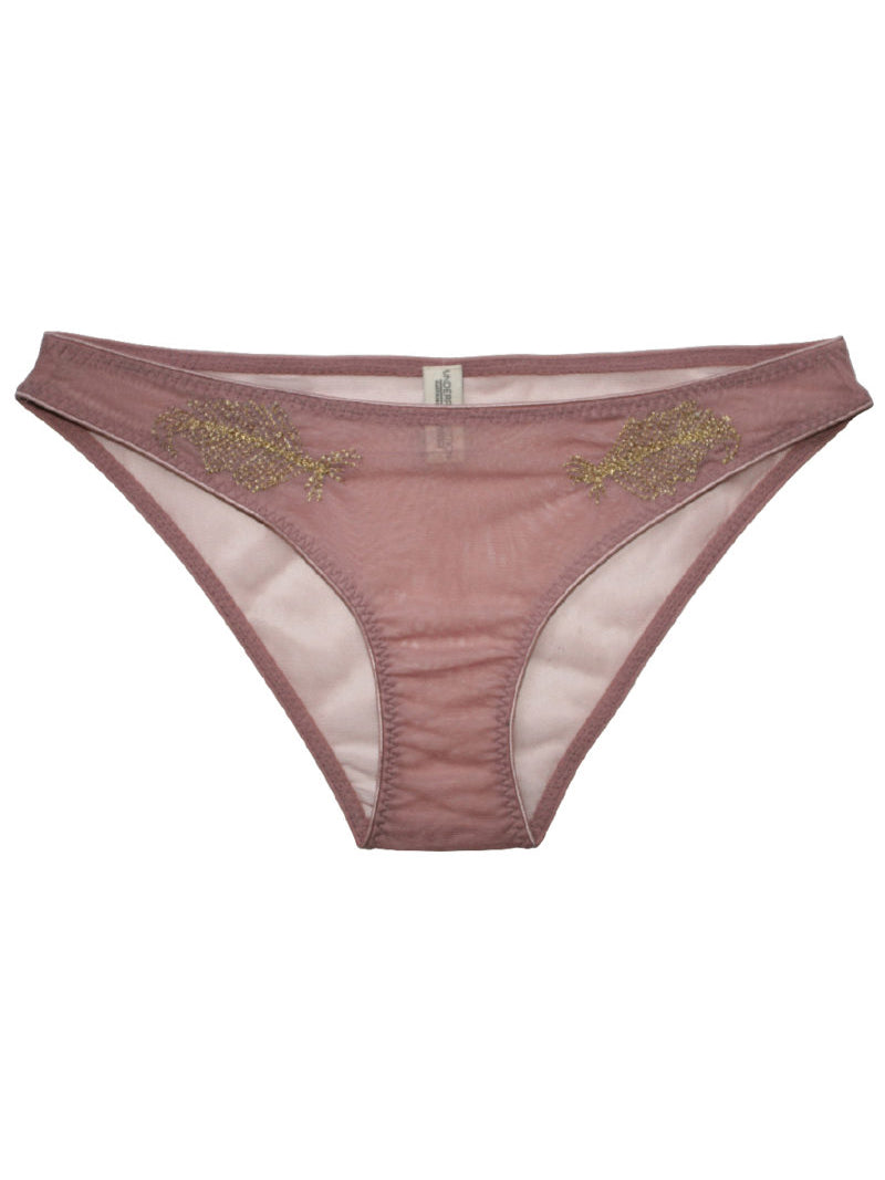 Underprotection Felicia Brief in Purple