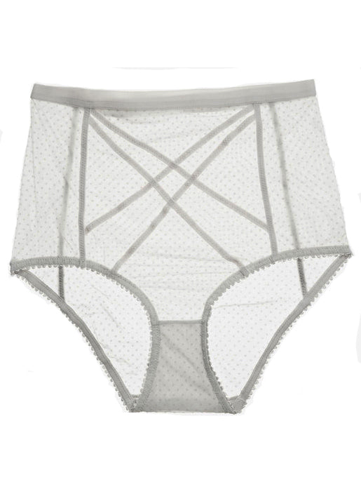 Lonely Lingerie Gigi High Waist Brief in Lunar