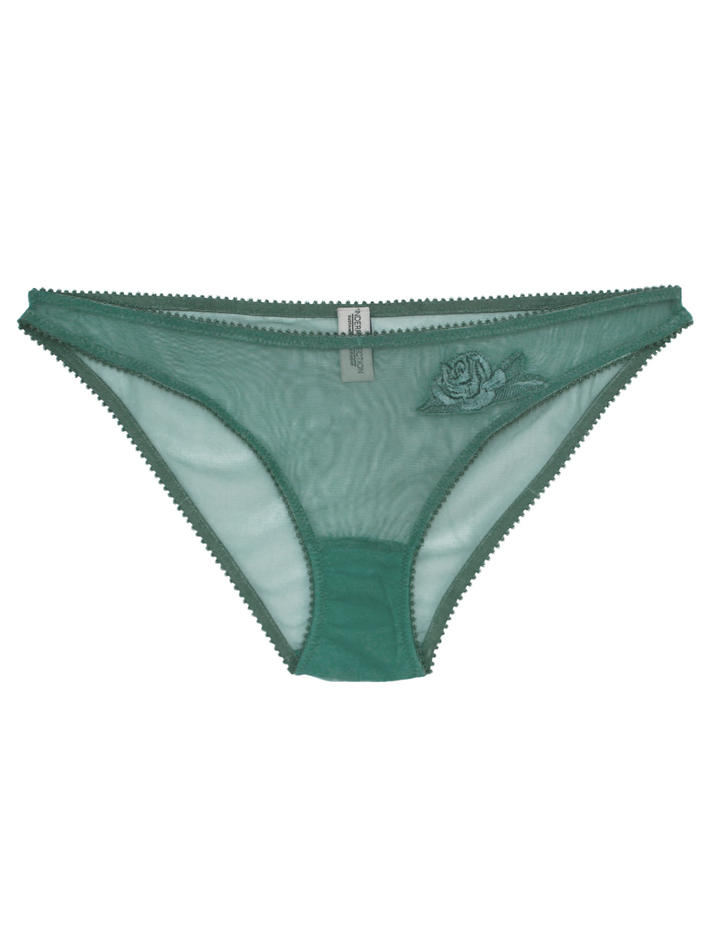 Heather Briefs and Bralette by Underprotection | Sustainable underwear Finding Rosie