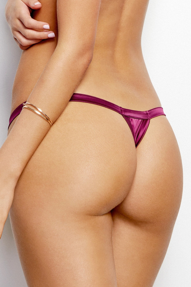 Stripe Illusion Thong - Finding Rosie Lingerie Boutique - 2