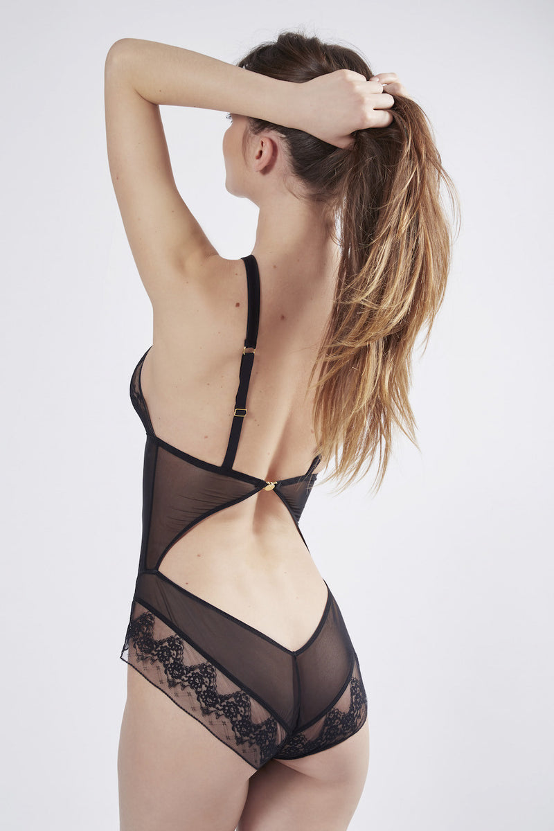 Mimi Holliday Orchid Twist Body | Online lingerie boutique