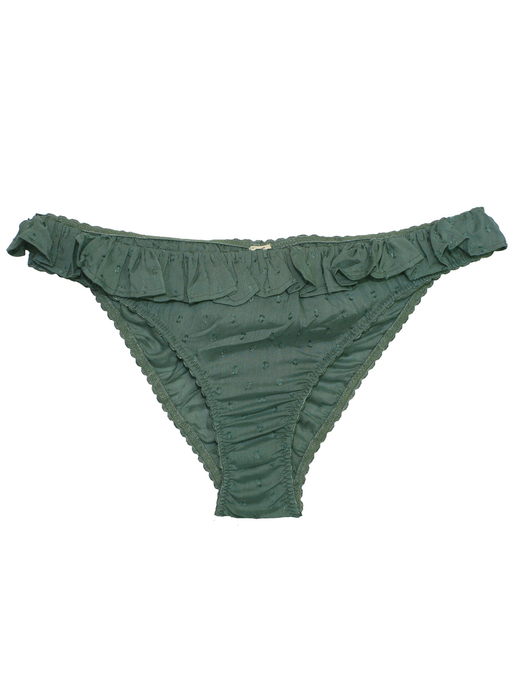 Underprotection Monica Briefs in Green