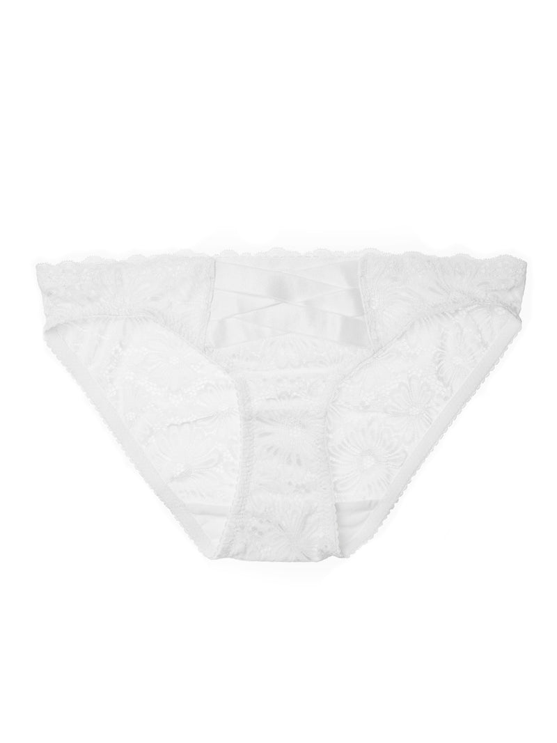 Patsy Tri brief by Lonely | Buy white lace lingerie