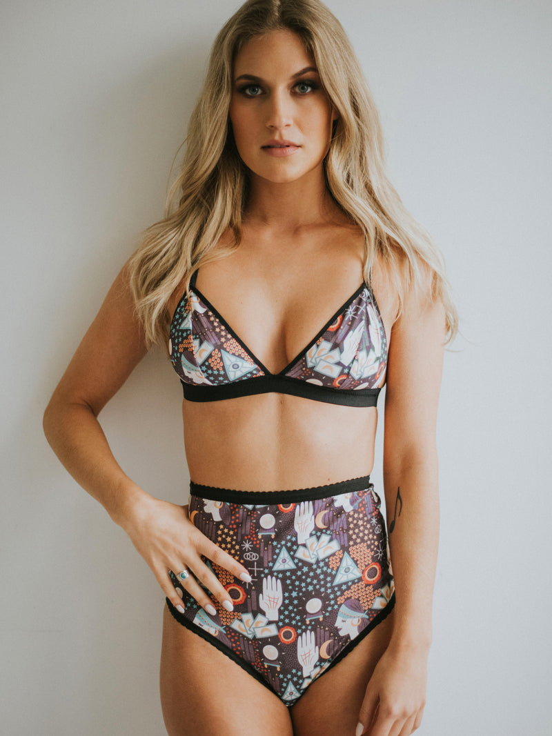 Tarot High-waist Brief by Coven Intimates | Finding Rosie